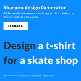 Un generador de ideas para completar tu portfolio de diseño
