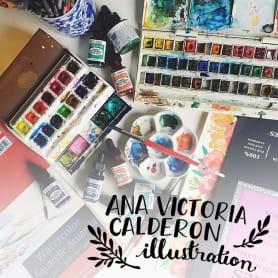 Los favoritos de Ana Victoria Calderón para pintar con acuarela