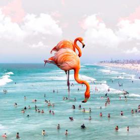 Karen Cantuq reinventa la naturaleza con sus collages fotorrealistas