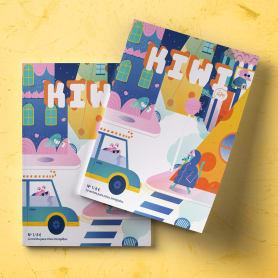 Kiwi, una revista que acerca la ilustración a los niños