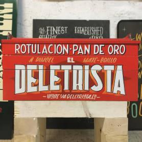El Deletrista: el lettering mira al pasado