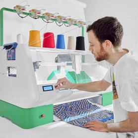 Kniterate, la impresora que teje tus diseños