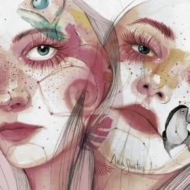 Ana Santos ilustra la feminidad en estado puro