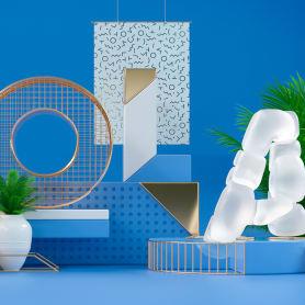 Los letterings y bodegones en 3D de Jose Checa
