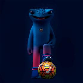 Las ranas futboleras de Aarón Mártinez