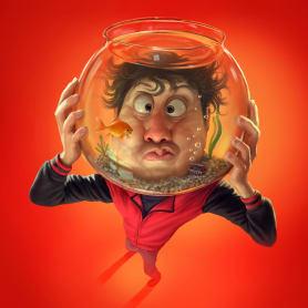 Las divertidas caricaturas de Tiago Hoisel