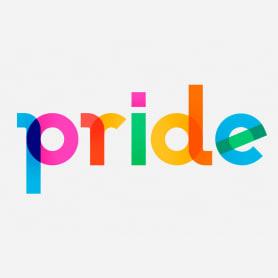 Descubre la tipografía inspirada en la bandera arcoíris de Gilbert Baker