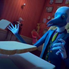 Mr. Blue Footed Booby, un corto sobre los sueños lúcidos
