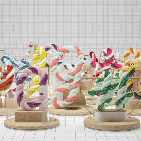 Las dulces y coloridas letras de Guillermo Llano