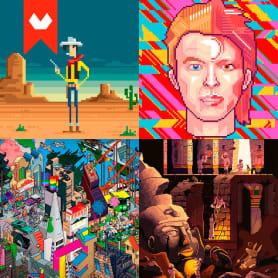 10 artistas del pixel art que nos devuelven a los 80