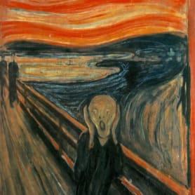 Adobe digitaliza y comparte los pinceles de 'El grito' de Munch