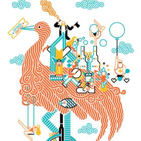 Carlos Arrojo: ilustrando con líneas