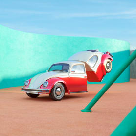 Nostalgia automovilística y diseño 3D se ponen a bailar