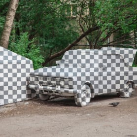 CTRL+X o cómo hacer objetos invisibles con arte urbano