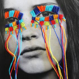 El arte urbano textil con aire mexicano de Victoria Villasana