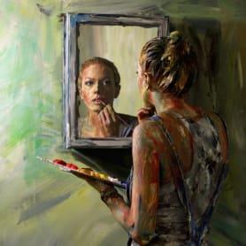 Alexa Meade y su trampantojo artístico