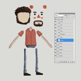 Ilustración y animación de personajes con Zenzuke