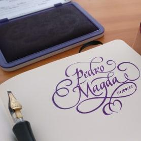 Un Ex libris caligráfico, el regalo personalizado perfecto