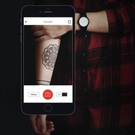 """Ink hunter, el """"probador"""" de tatuajes digital"""