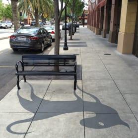 Damon Belanger, el artista urbano de las sombras