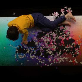 Un puzle CMYK de 5000 piezas