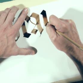 Construye, con Oriol Miró, tus propias plumas caligráficas