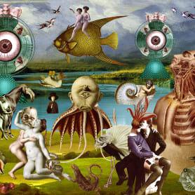 El surrealismo también se construye con collage