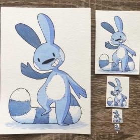 ¿Cuál es la ilustración más pequeña que has dibujado?