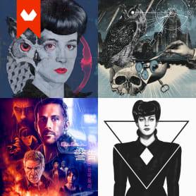 10 ilustradores y diseñadores revisitan Blade Runner