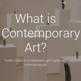 Google, ¿qué es el Arte Contemporáneo?