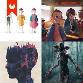15 diseños que homenajean a Stranger Things