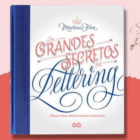 'Los grandes secretos del lettering', de Martina Flor, en español