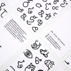 TypoGrAphiC, una tipografía basada en el ADN