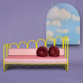 Arco: mobiliario estilo años 70 de Masquespacio
