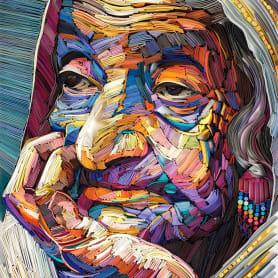 Los impresionantes retratos de papel de Yulia Brodskaya