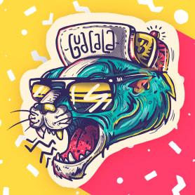 La ilustración callejera de Guacala collective