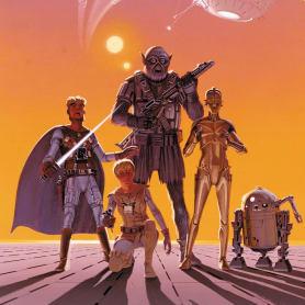 Así sería 'Star Wars' según el concept art original de Ralph McQuarrie