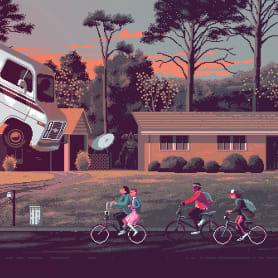 Películas y series de culto en clave pixel art