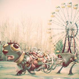 Las criaturas de Óscar Lloréns habitan Chernóbil