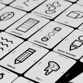 Una baraja de cartas para impulsar la creatividad