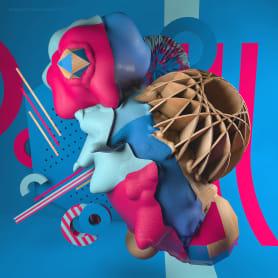 Colorido y abstracción en los diseños de Carlo Cadenas