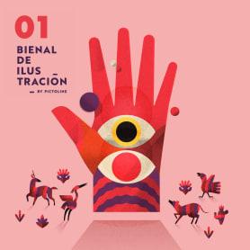 Participa en la I Bienal de Ilustración by Pictoline