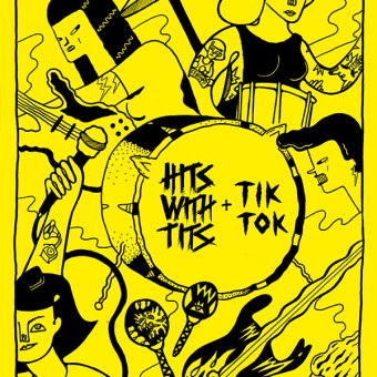 Tits Tok. Um projeto de Ilustração de Ana Galvañ - 20.09.2015