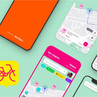 App Bike Sharing - Tembici / Bike Itaú. Un progetto di UI/UX , e Design per smartphone di Diogo Kpelo - 01.04.2019