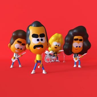 Queen. Un progetto di Motion Graphics, 3D, Direzione artistica, Rigging, Animazione 3D, Illustrazione digitale , e Character design 3D di Andreé Chujutally Mejía - 14.07.2019