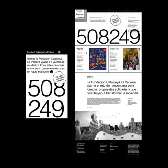 """New digital portal for """"Fundació Catalunya La Pedrera"""". Un progetto di UI/UX, Web Design , e Design per smartphone di Agustin Sapio - 25.07.2019"""
