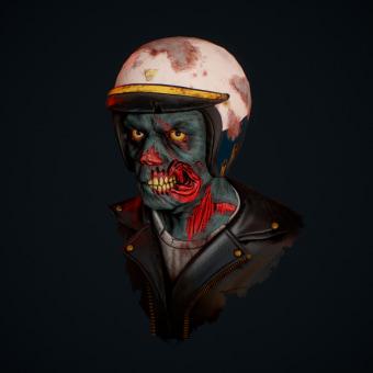 Zombie Police. Un projet de 3D, Conception de jeux , Sculpture, Jeux video , et Conception de personnages 3D de Andres Rendón - 28.08.2019