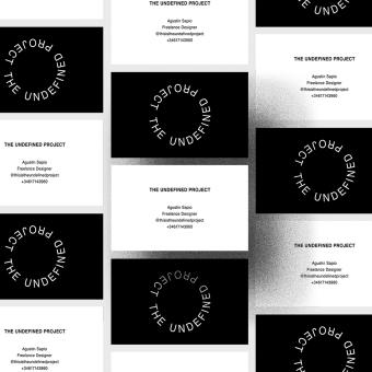 The Undefined project. Un progetto di Br, ing e identità di marca, Web Design, Sviluppo Web , e Design per smartphone di Agustin Sapio - 03.09.2019