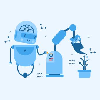 Libre AI. Un projet de Illustration, Br, ing et identité, Character Design, Création de motifs , et HTML de ToTheMoon - 18.10.2019