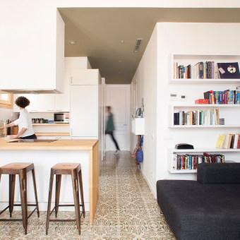 CASA JES. Um projeto de Arquitetura e Arquitetura de interiores de Nook Architects - 15.03.2013